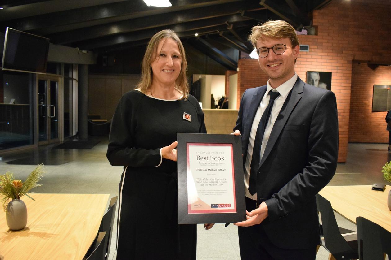 Tatham receives award