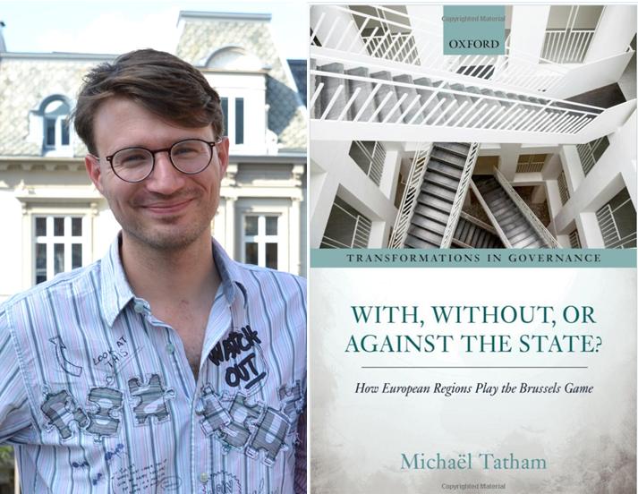 Michaël Tatham og hans nye bok