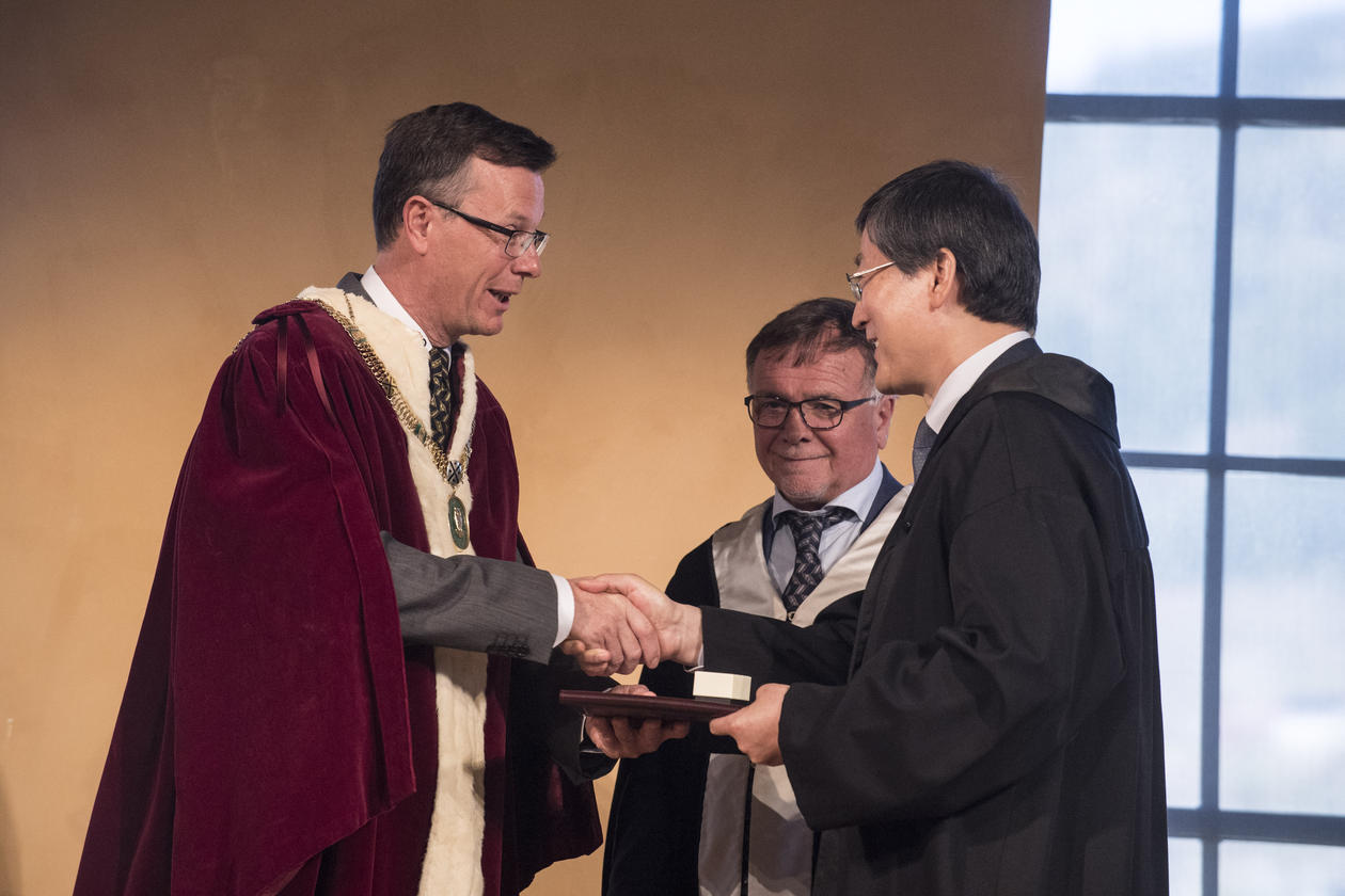 professor Han Dayuan
