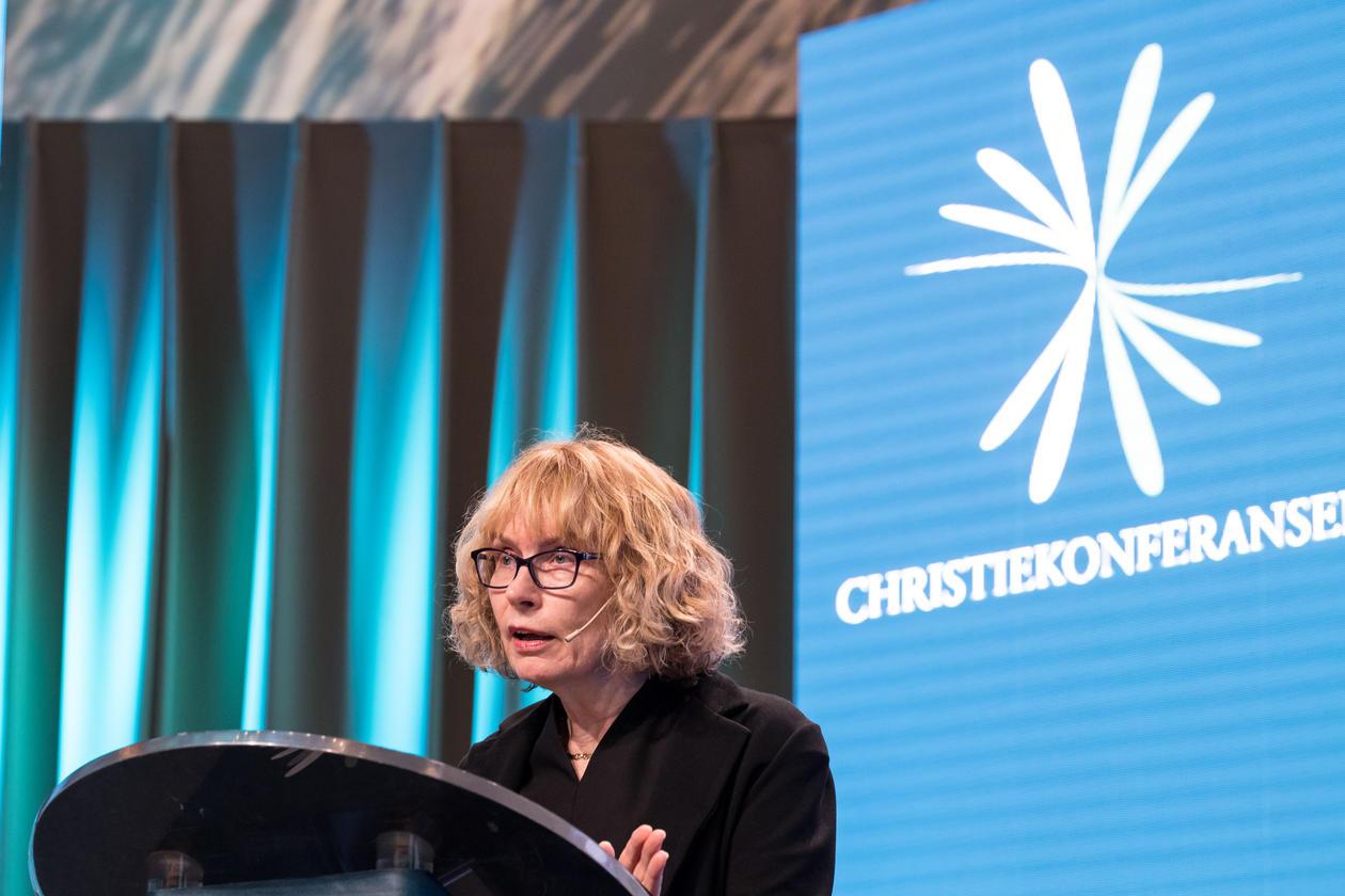 Toril Moi på Christiekonferansen 2018