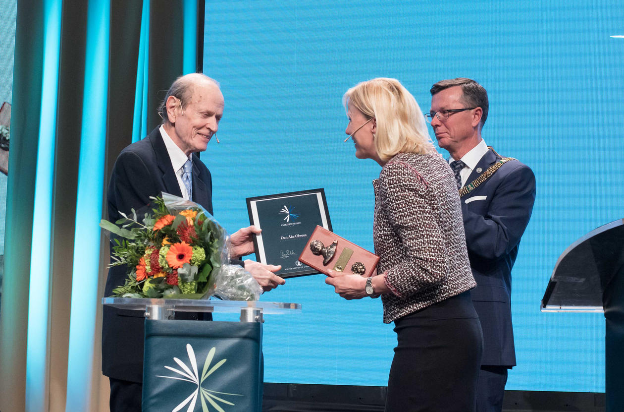 Dan Olweus vinner Christieprisen 2018