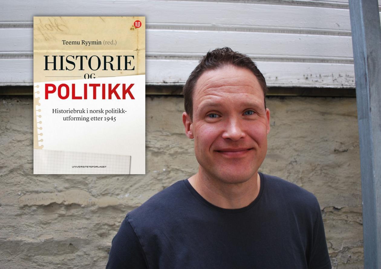 Teemu Sakari Ryymin, historieprofessor ved UiB, er redaktør for den nye boken.