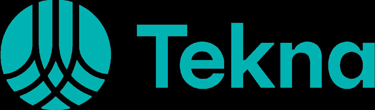 Logo Tekna, sponsor fadderuken