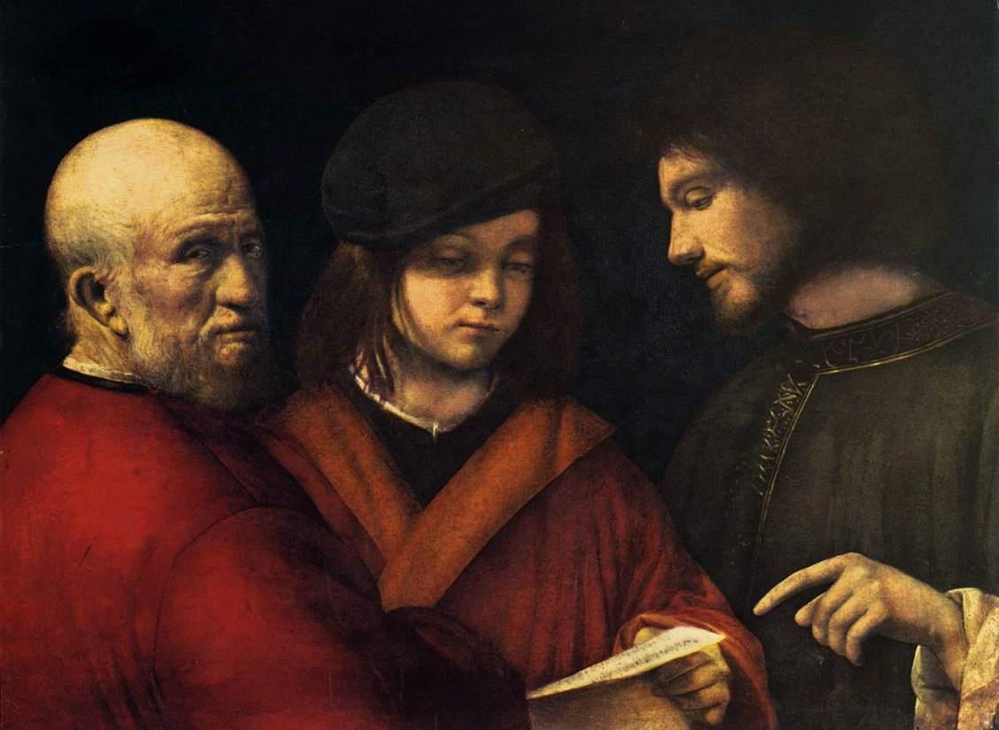 Painting of The Three Ages of Man