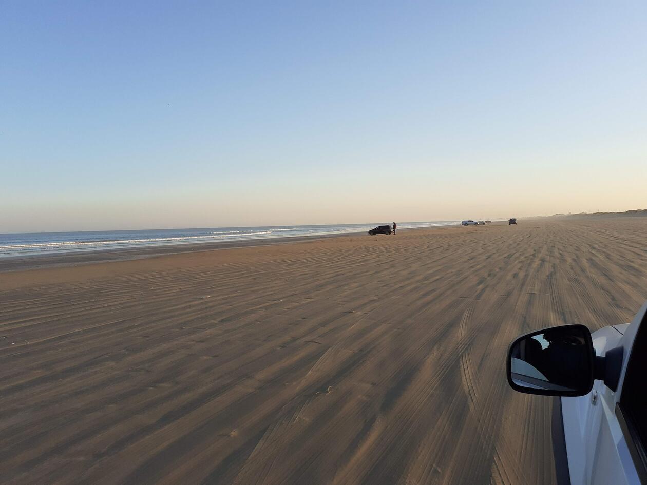 Picture of The world's longest beach - Praia do Casino in Rio Grande do Sul