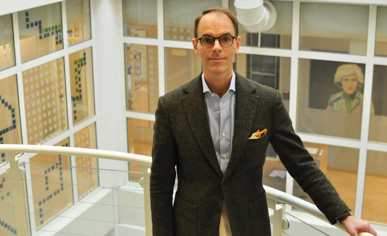 Professor Thomas Ågotnes.