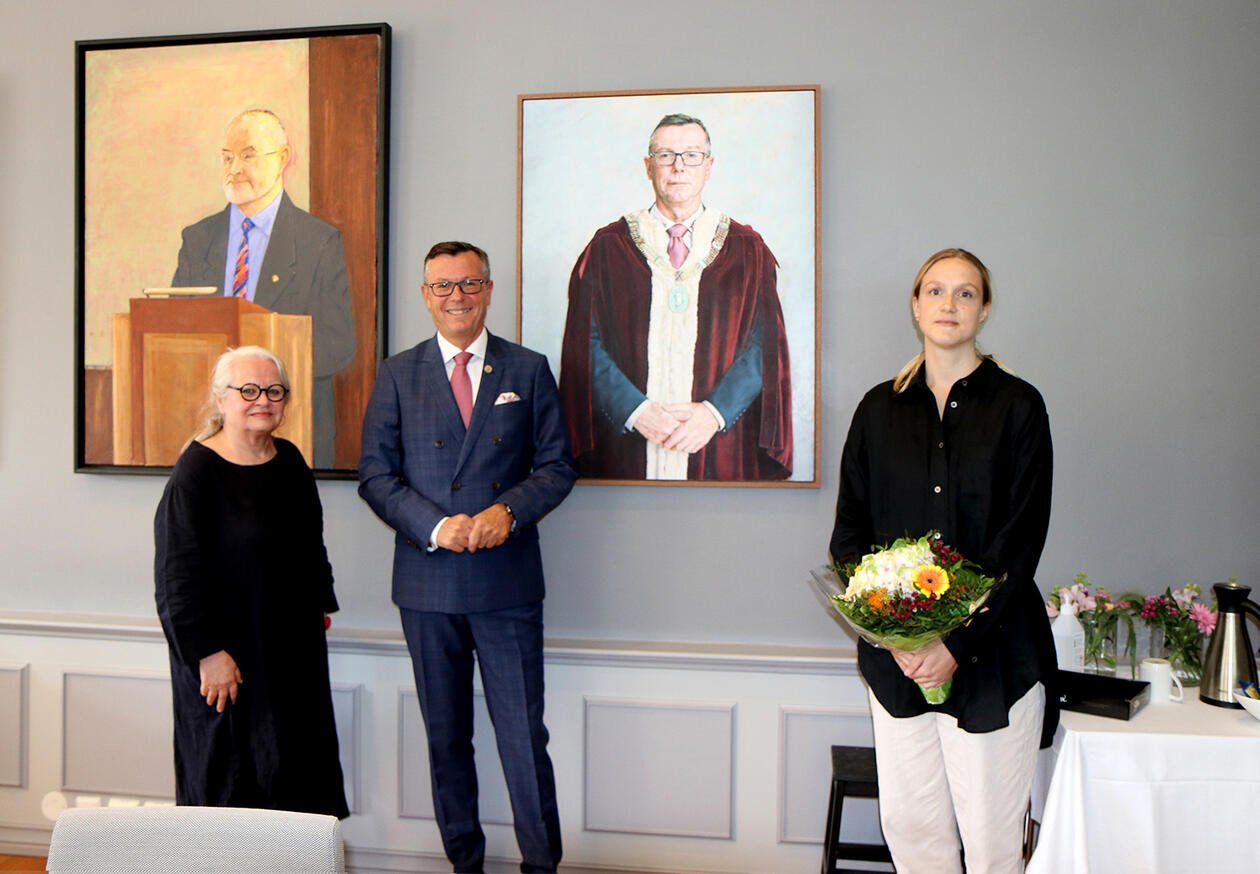 Gerd Tinglum, Dag Rune Olsen og Kristin Austreim.