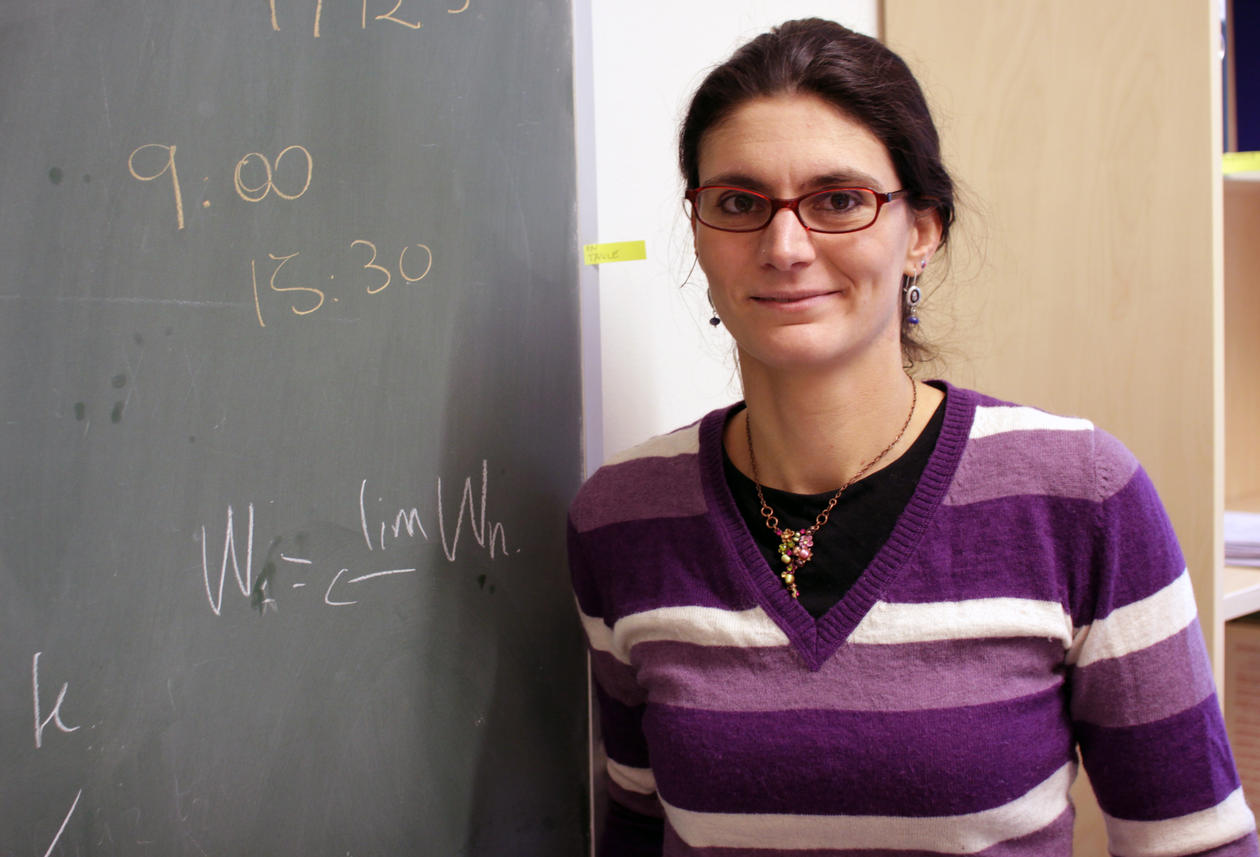 """""""I never felt an obstacle being a woman in my field, says Sofia Tirbassi, researcher at he Algebraic Geometry group at the University of Bergen."""