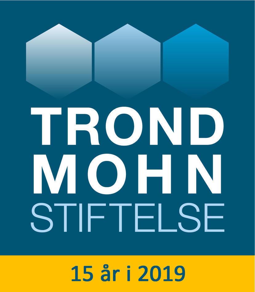 logo Trond Mohn Stiftelse 15 år