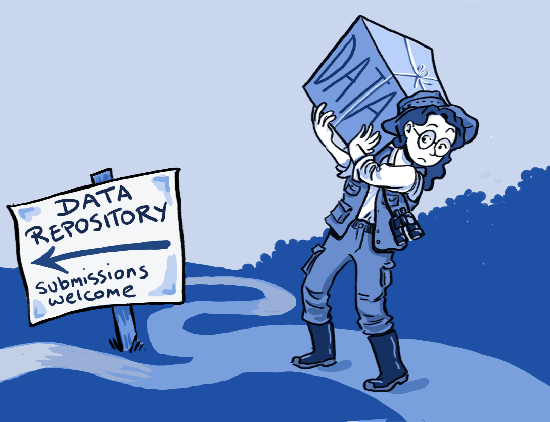 data deposit illustration