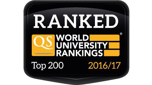 QS World University Ranking Badge