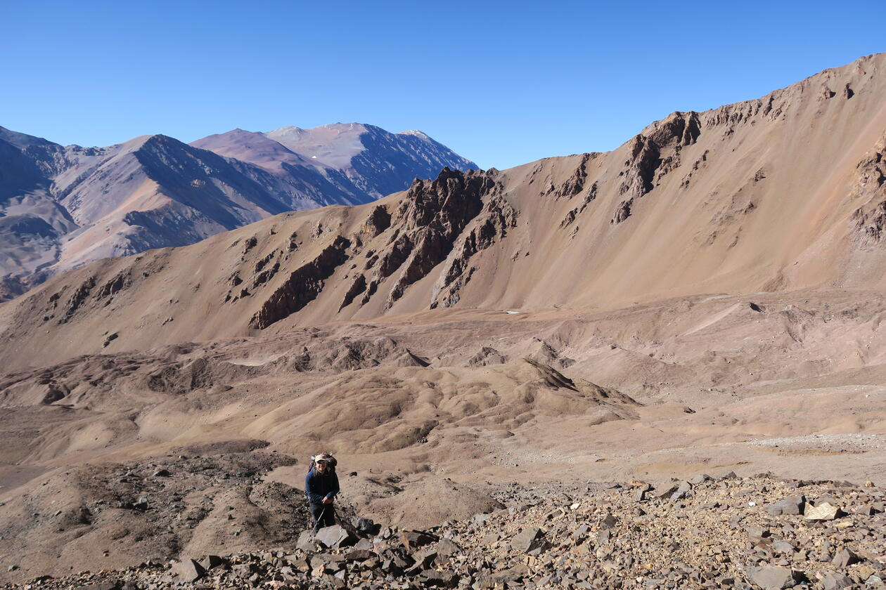Tapado Glacier and Rock Glacier Complex