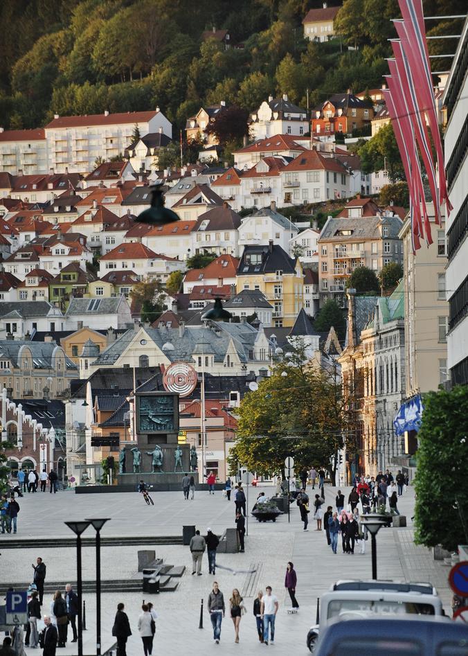 Torgalmenningen, Bergen