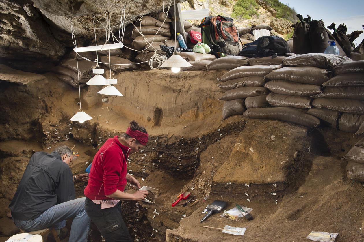 Blombos - utgraving