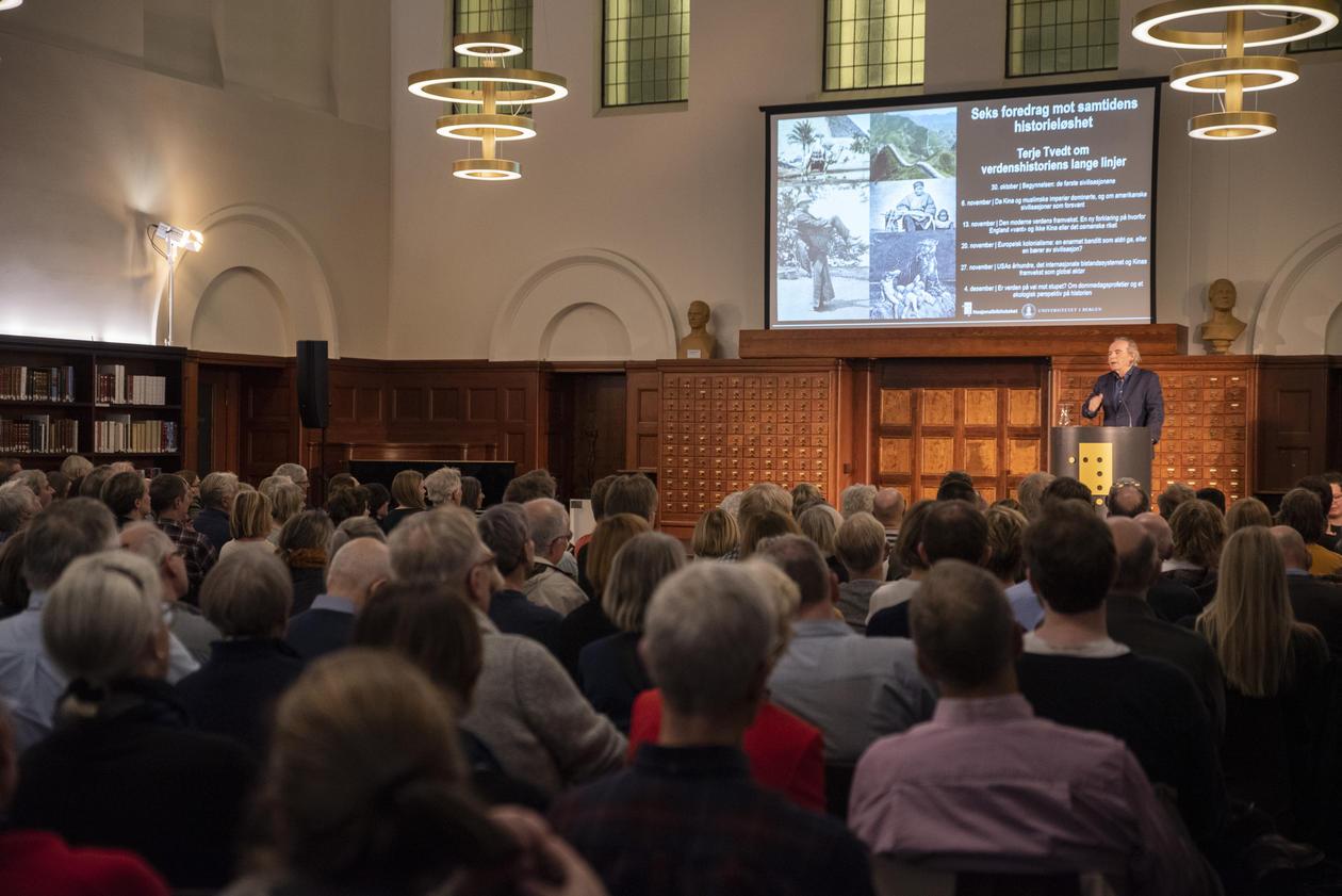 foredrag Tvedt Oslo