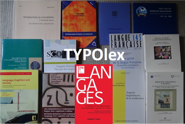 The joint publications of the research group TYPOlex.