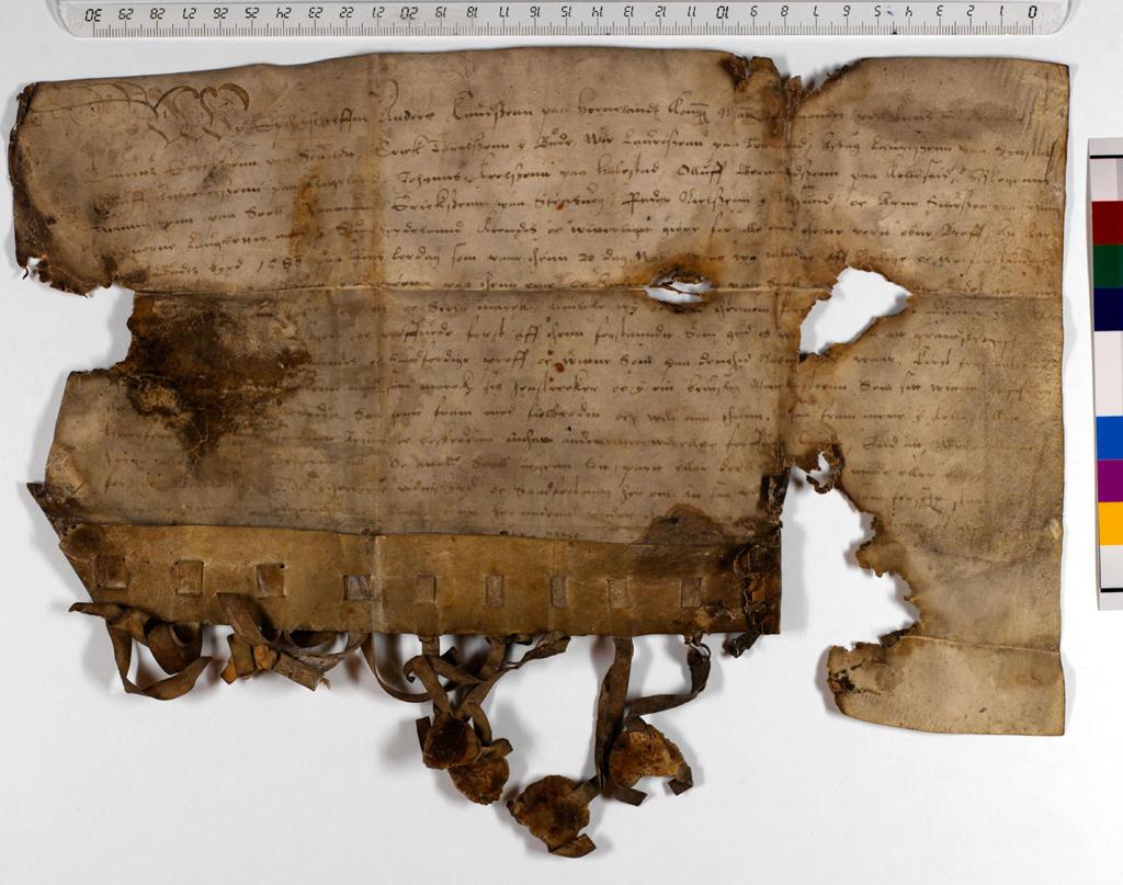 1586, 14. november Hordaland, Stord, Føyen grensegang