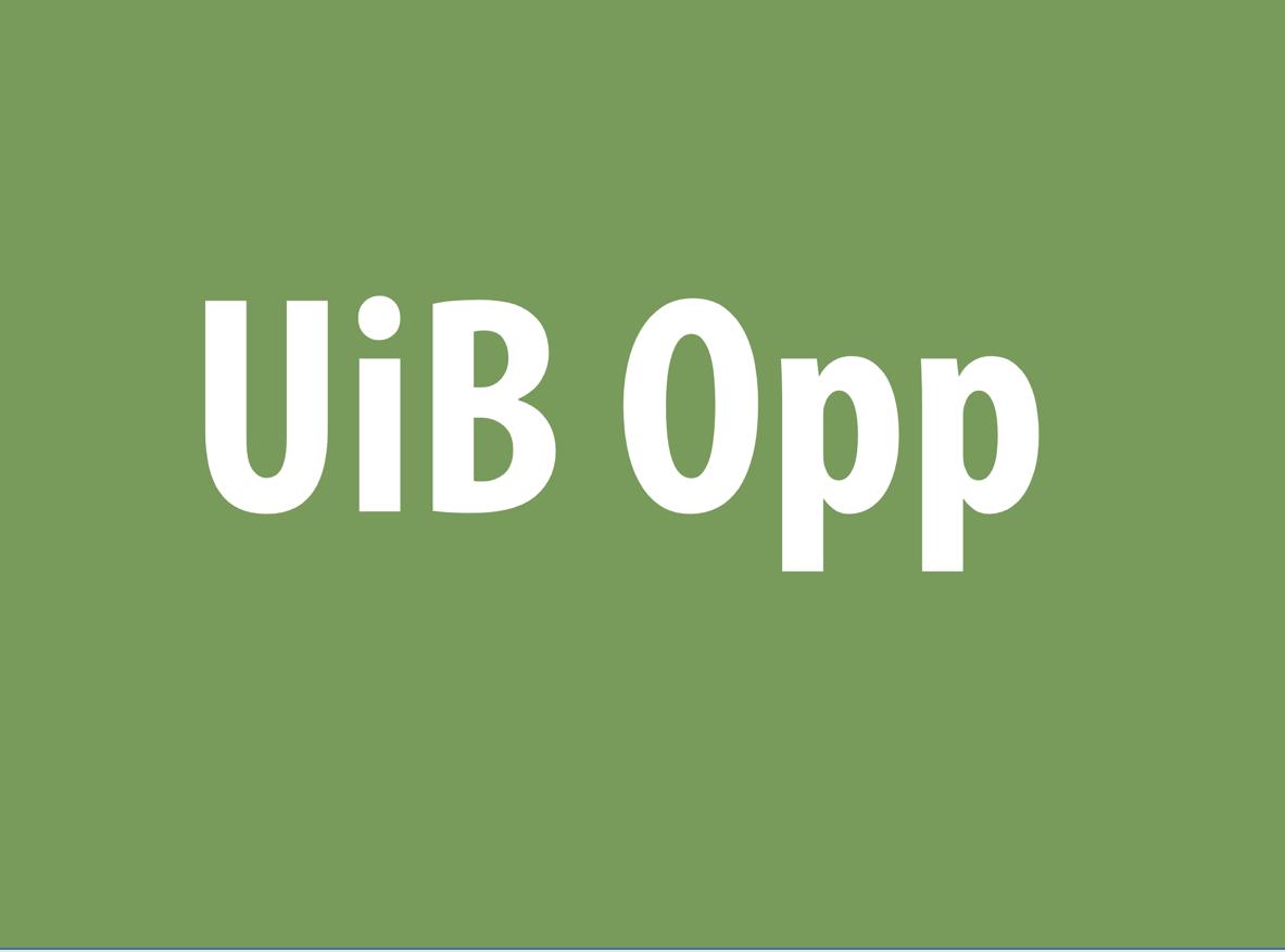UiB Opp