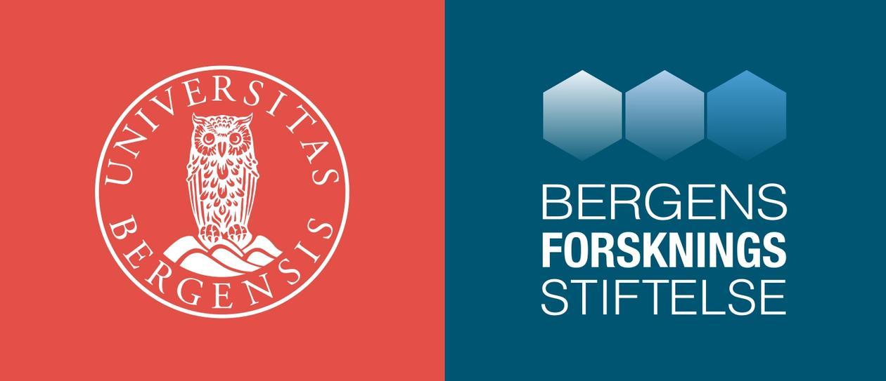 Logo UiB og Bergens forskningsstiftelse