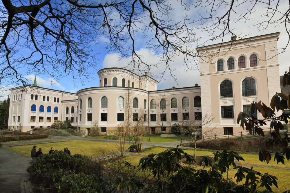 The university museum building is one of the landmarks in Bergen and a proud part of the University of Bergen.
