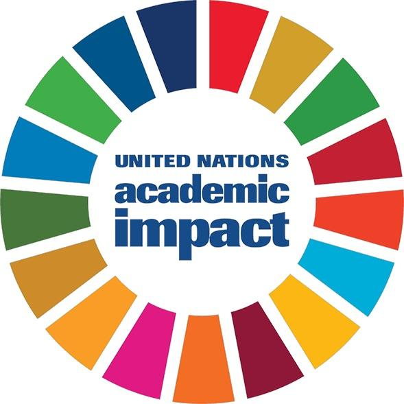 Logo of United Nations Academic Impact (UNAI).