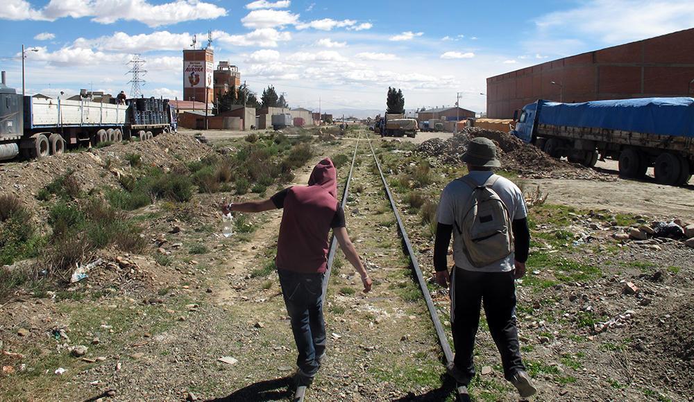 Ungdom i El Alto, Bolivia
