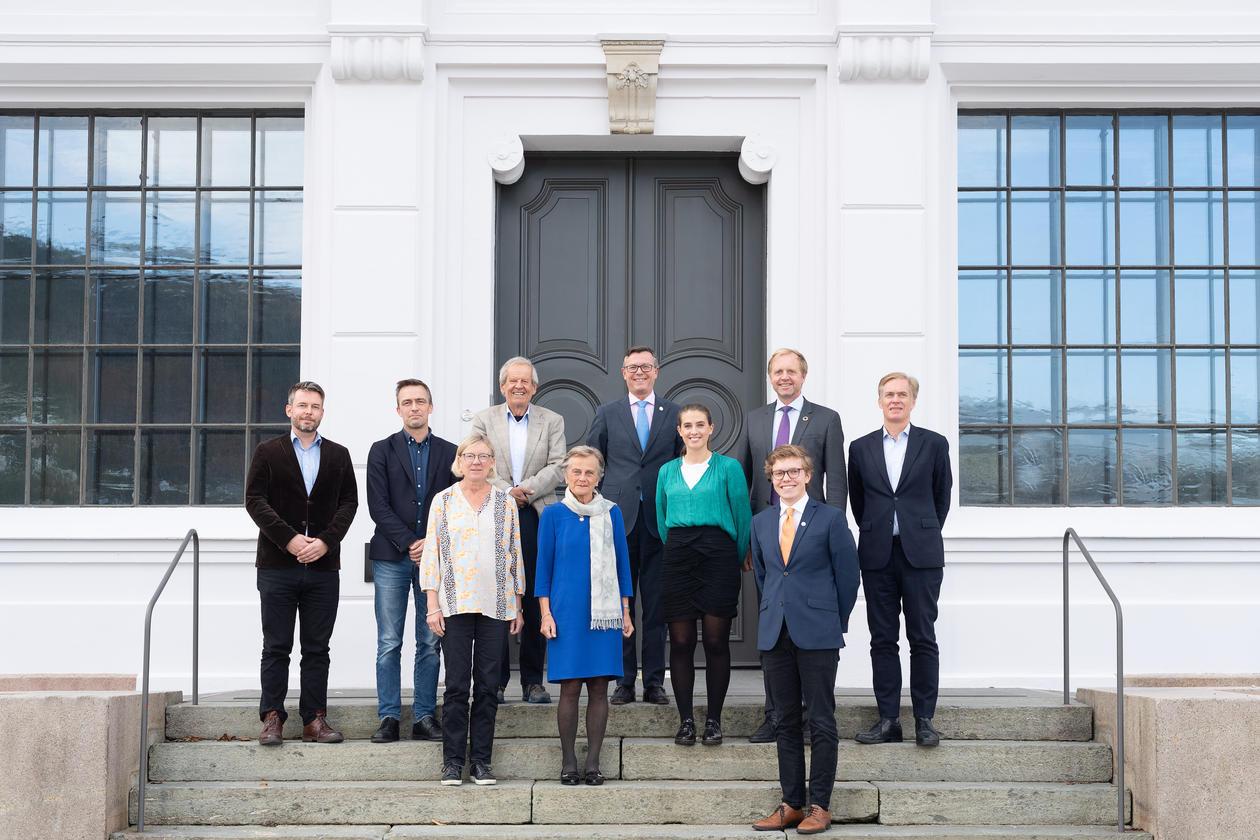 Medlemmene i styret ved UiB