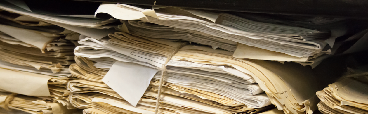 Papers in an archive