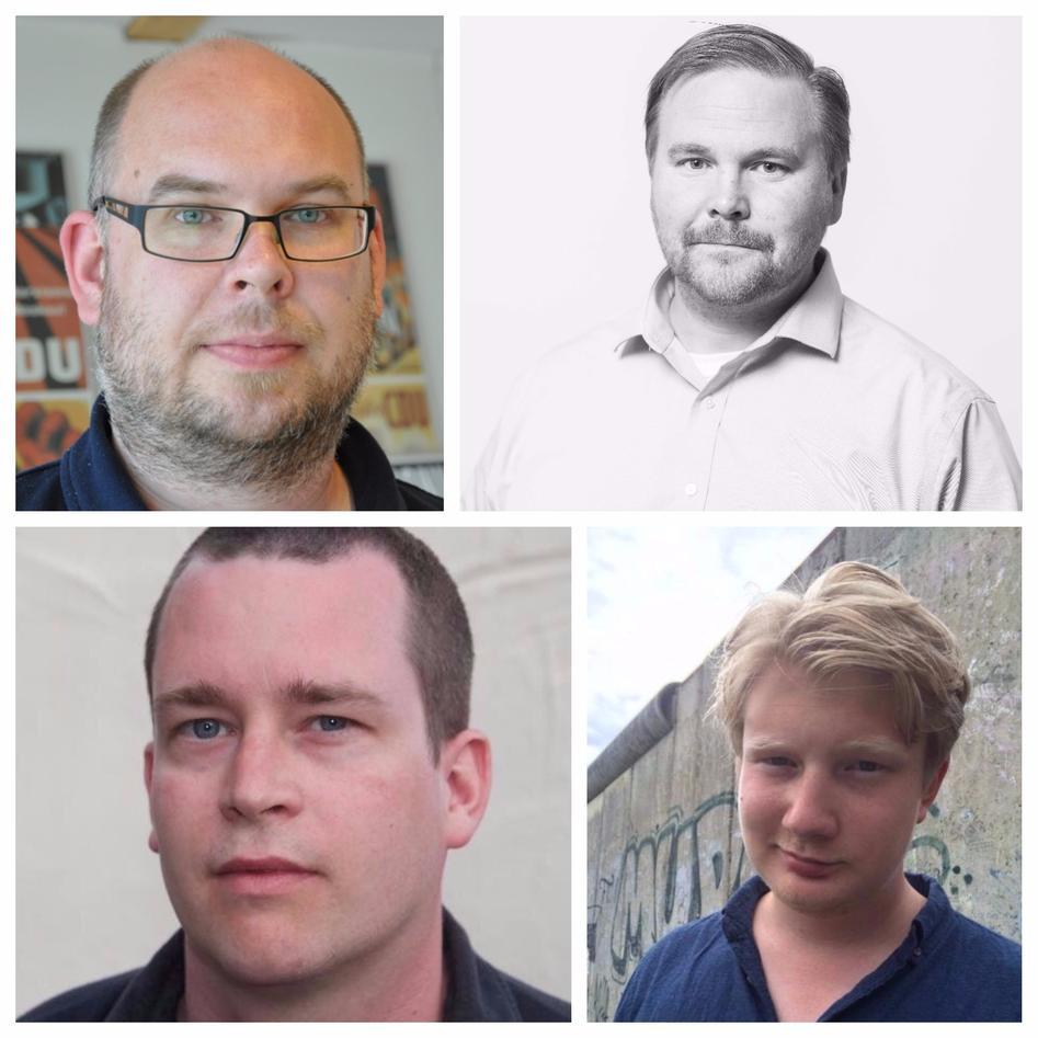 Linde, Dahlberg,Arnesen and Johannesson.