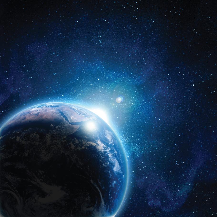 Jorden i verdensrommet