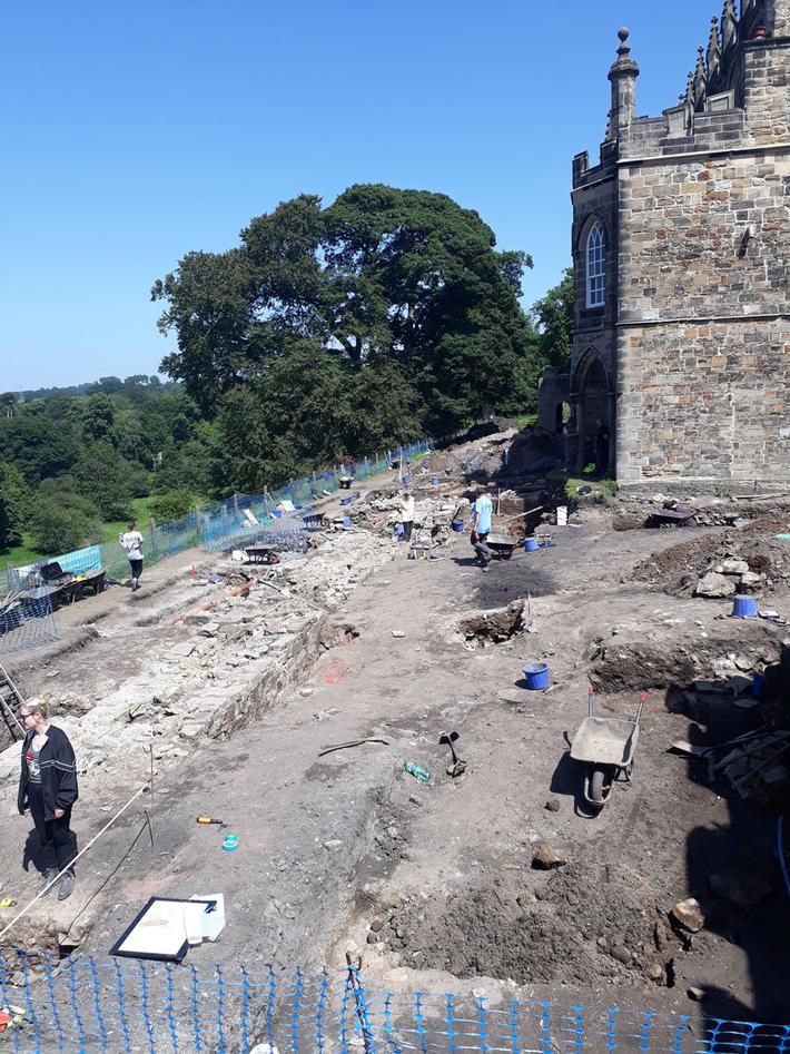 Utgraving i Durham