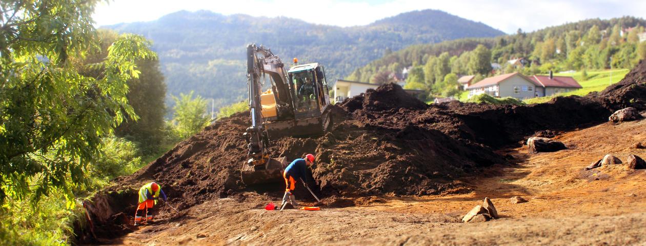 Utgraving Bøahagen Stryn