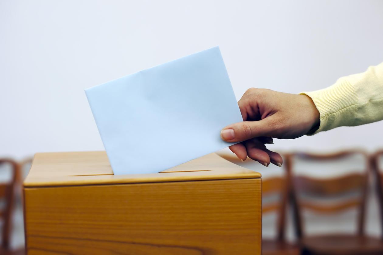 Election urne