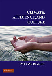 Van de Vliert. Climate, Affluence, and Culture