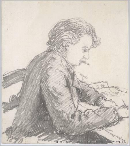 Grieg portrait