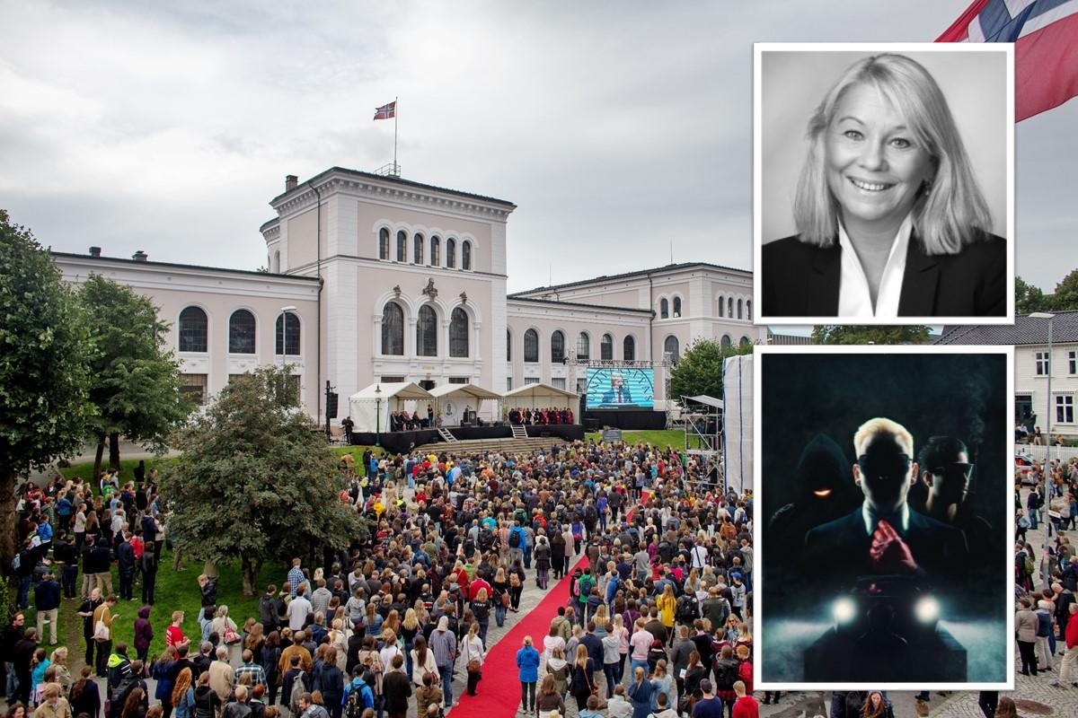 Monica Mæland og Datarock skal delta på årets velkomstseremoni