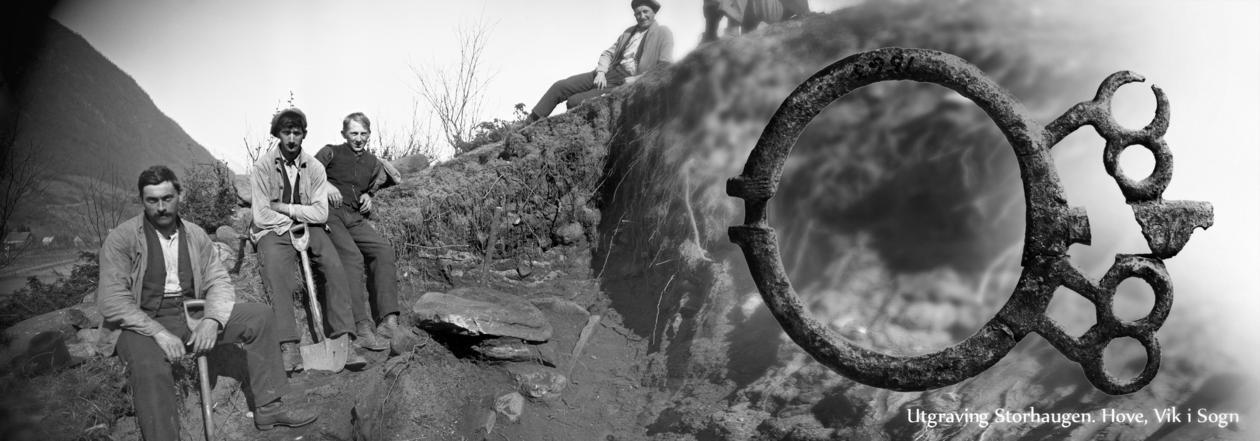 Utgraving storhaugen Hove S&Fj