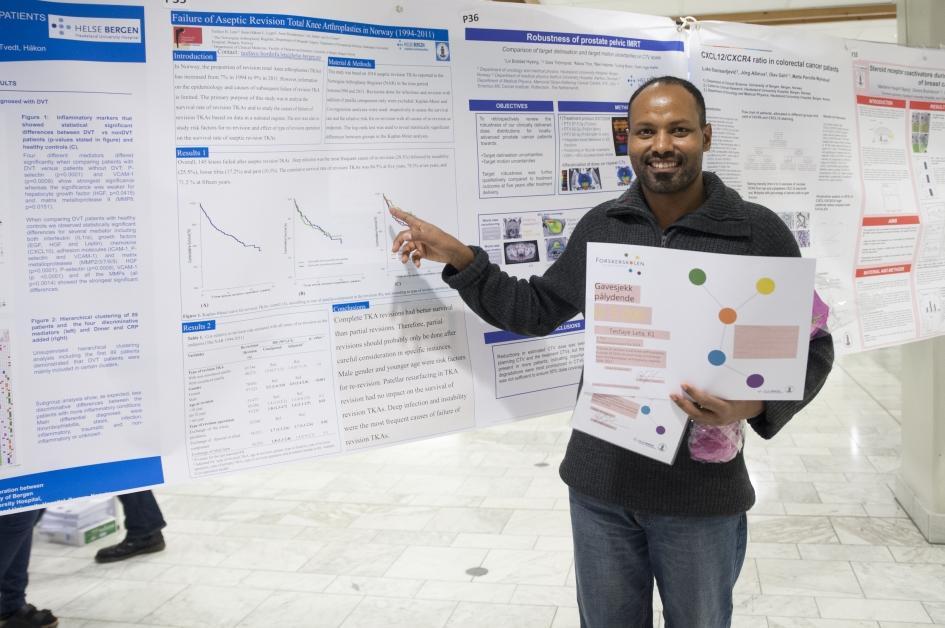 vinner poster forskerpresentasjoner 2014
