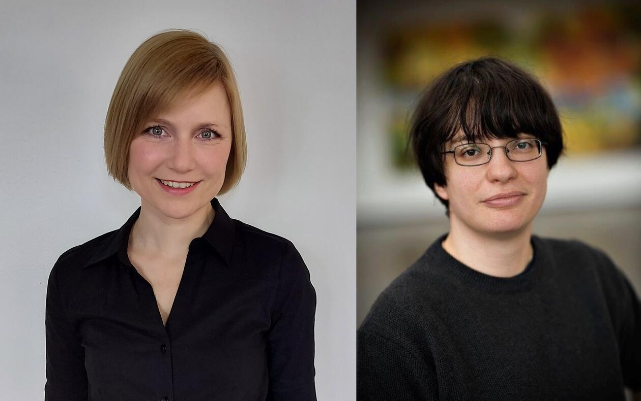 Bergithe Oftedal og Simona Chera