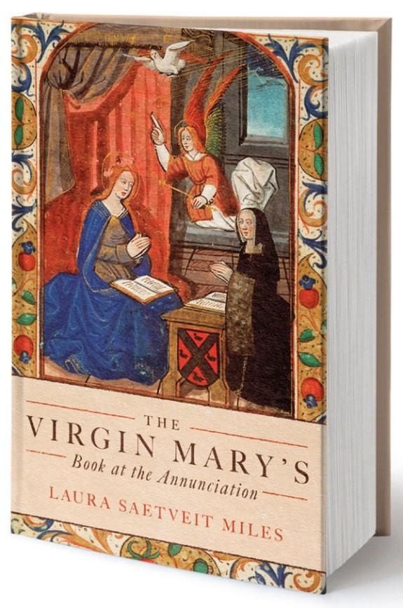 Virgin Mary's book at the Annunciation