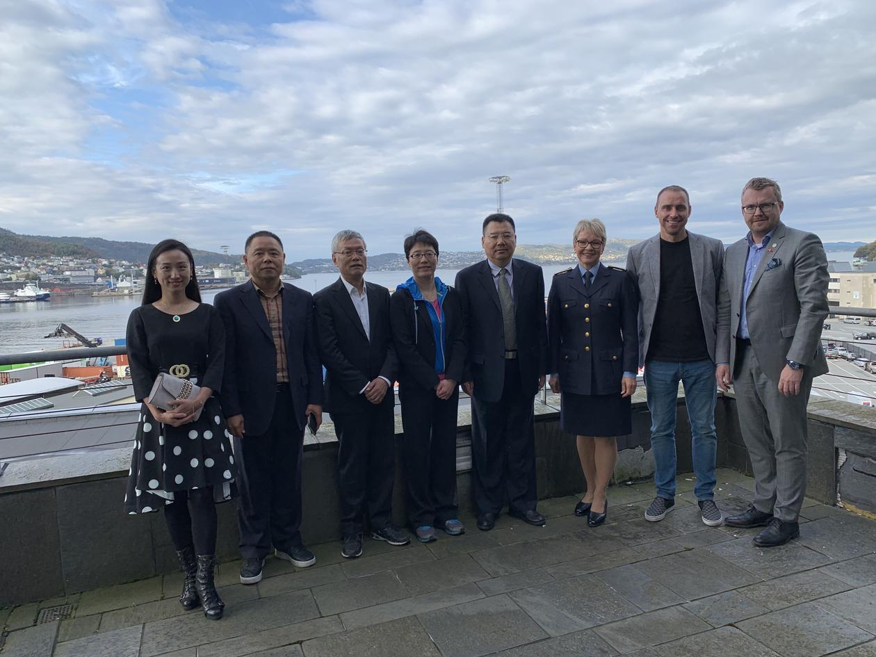 Visit from the Shanghai Municipial Bureau of Justice