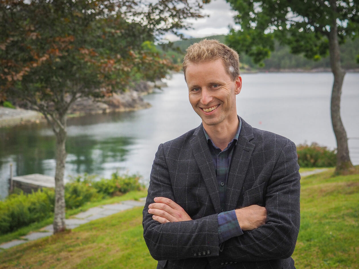 Kristoffer Chelsom Vogt instituttleiar sosiologi UiB