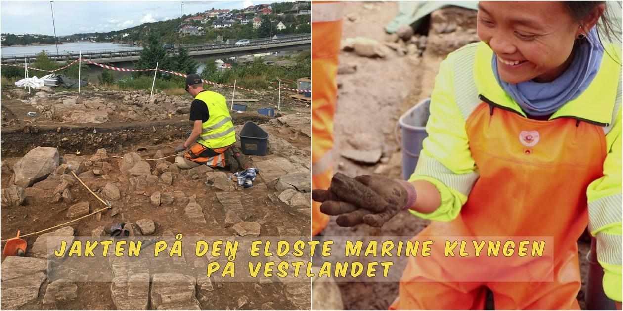 Jakten på den eldste marine klyngen på Vestlandet