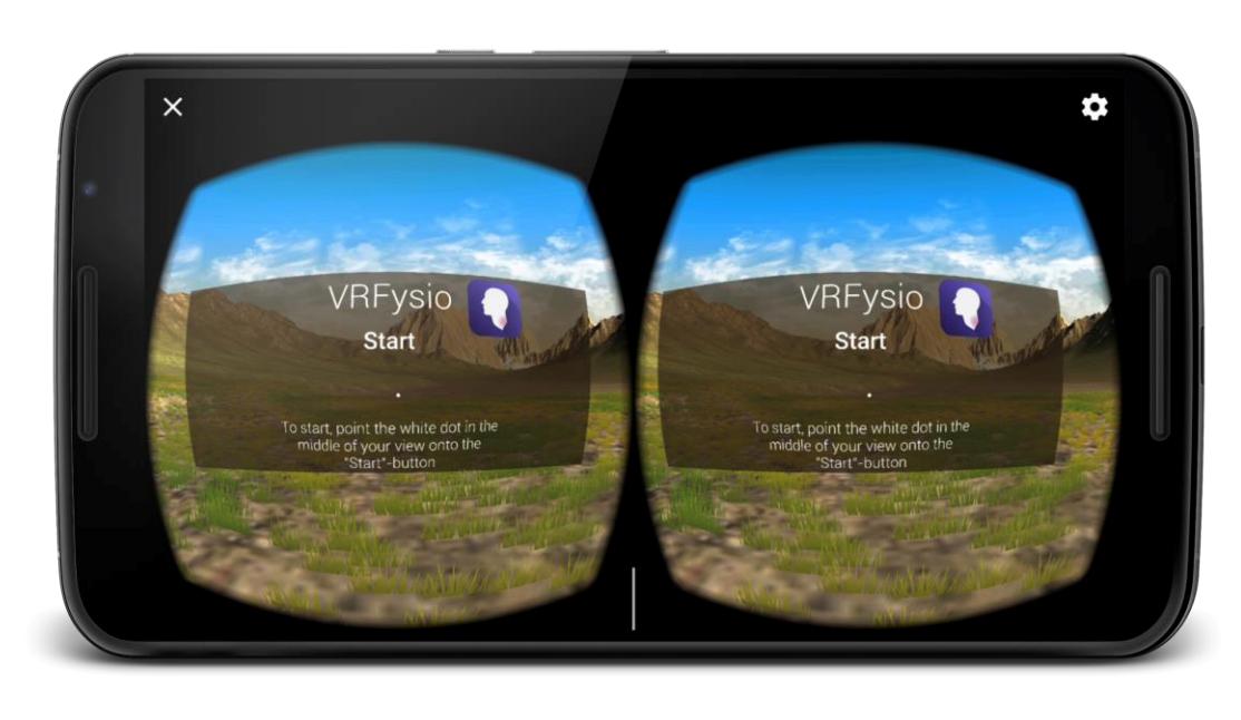 VR-spill til bruk i fysioterapi