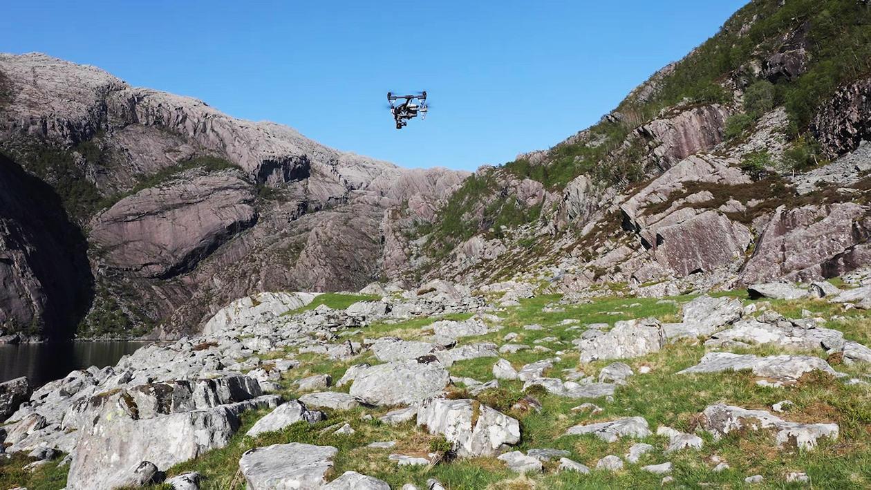 Datainnsamling med drone