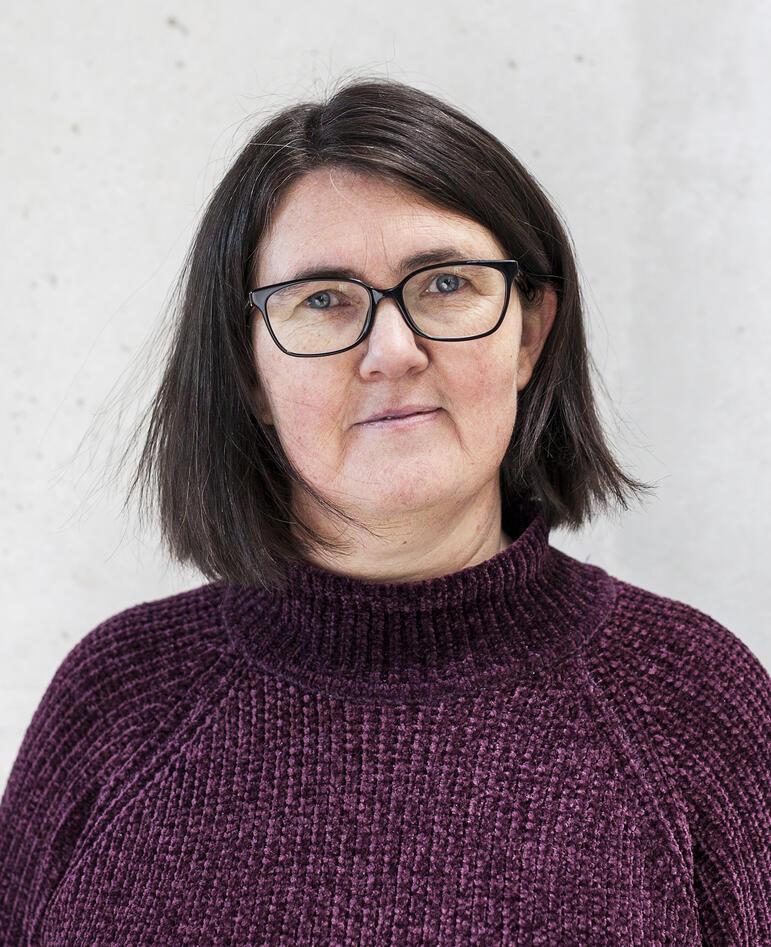 Portrettfoto av Elisabeth Wik