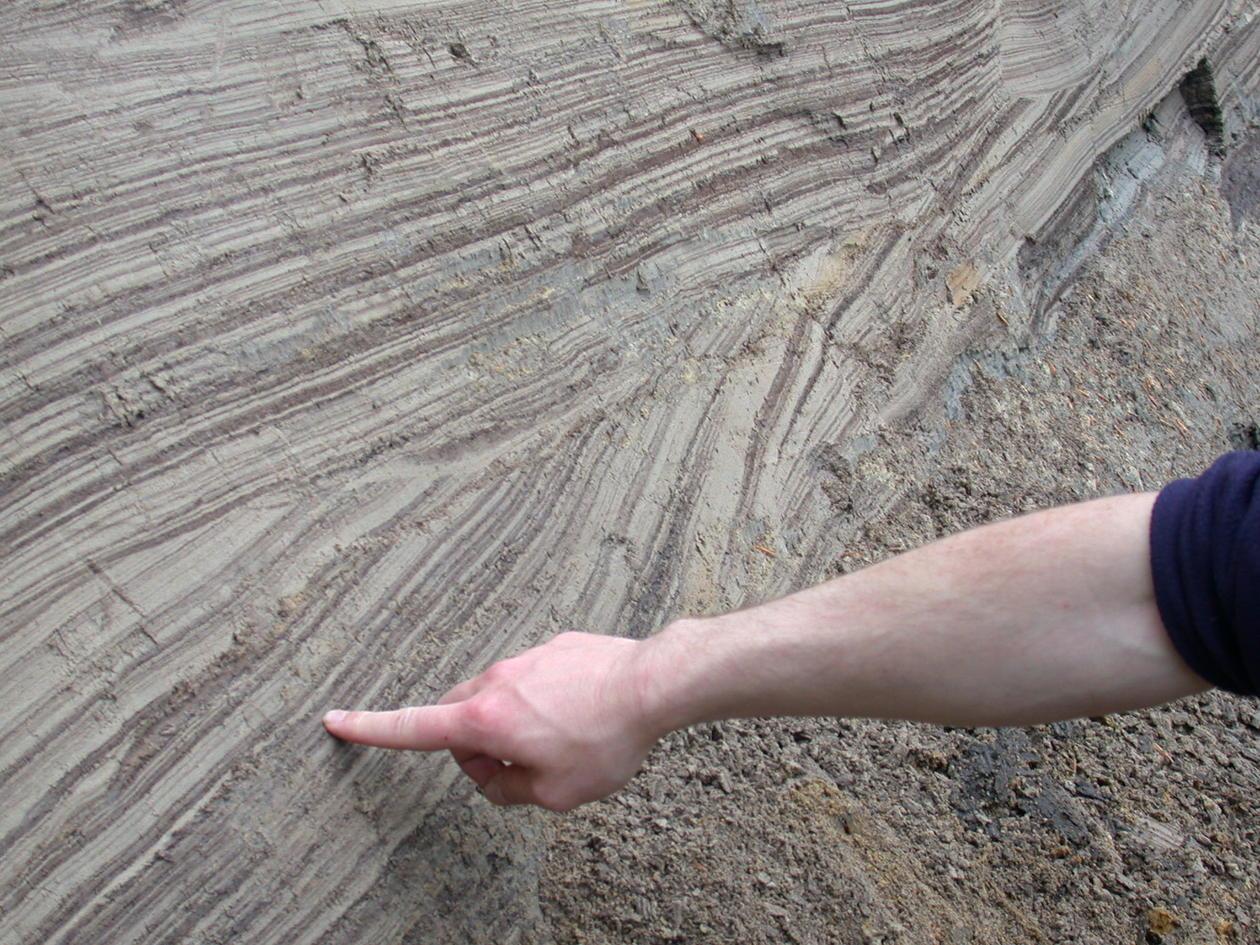 Bilde til masterprosjekt i geologi, energi/ressurser, bølgerifler