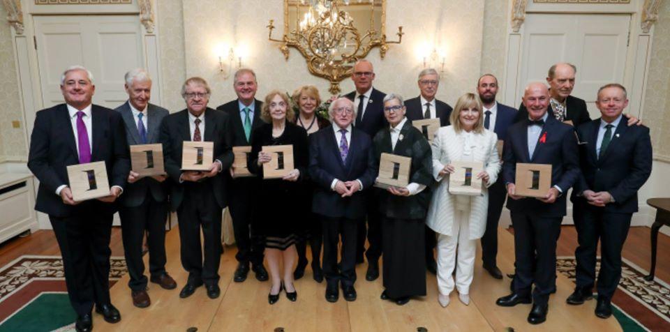 William Howlett receives President's award