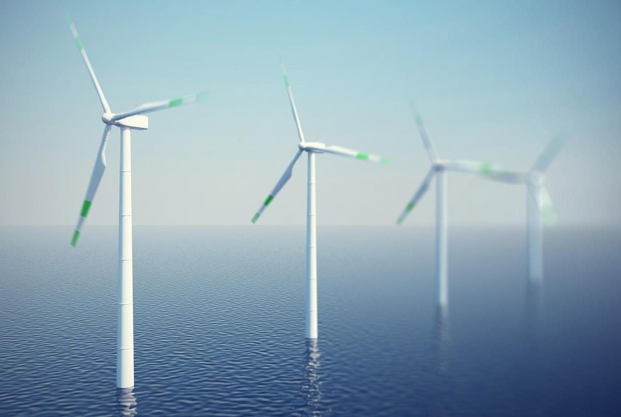 vindturbiner til havs