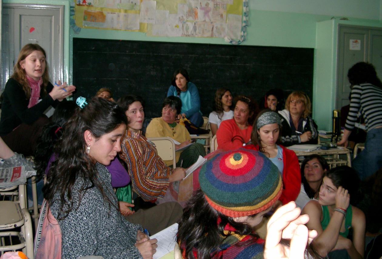 Kjemper for kvinners rettigheter: rundt 20 000 kvinner, tre dager, over 48 ulike workshops.